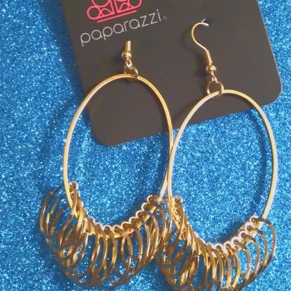 Paparazzi Oval Shape Earrings